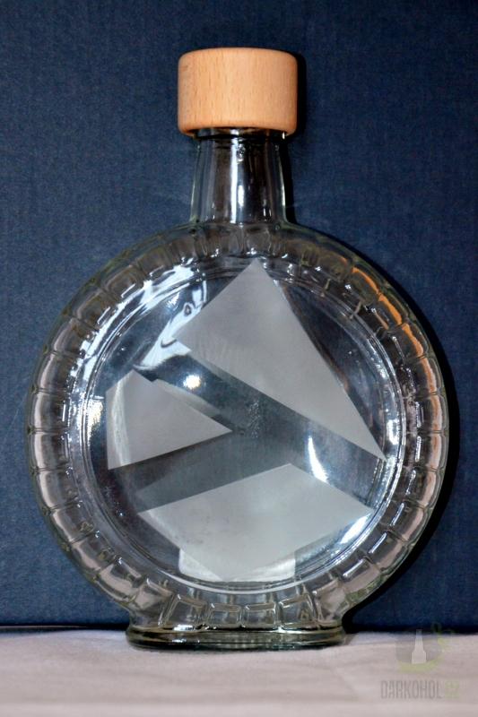 Hlavní kategorie - Láhev pískovaná Budík 0,35l vzor trojúhelník