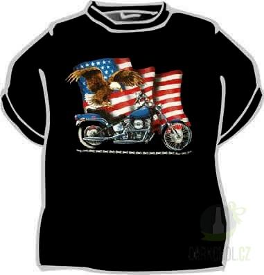 Hlavní kategorie - Triko motorka černá
