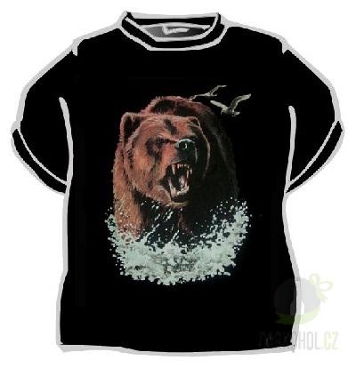 Hlavní kategorie - Triko medvěd černá