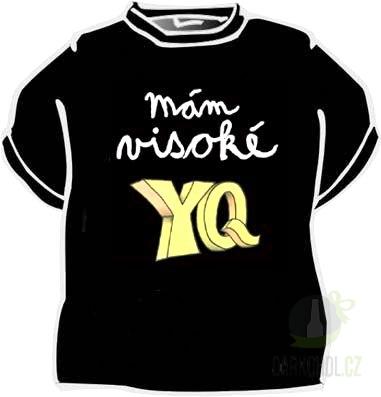 Hlavní kategorie - Triko mám visoké YQ černá