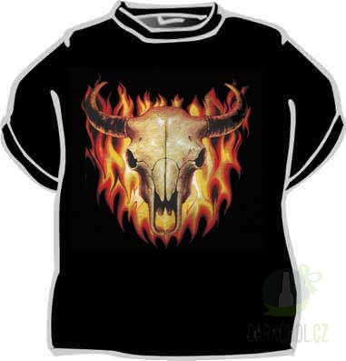 Hlavní kategorie - Triko Býk v ohni černá