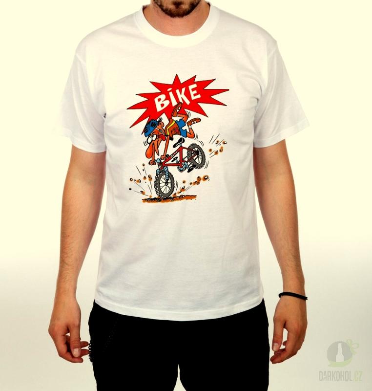 Hlavní kategorie - Triko Bike bílá