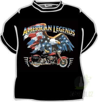 Hlavní kategorie - Triko American legends černá
