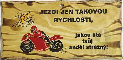 Hlavní kategorie - Žertovná tabulka nástěnná-Motorka ea485a3da8