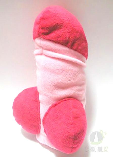 Hlavní kategorie - Polštář-Pindík plyš 40cm růžový