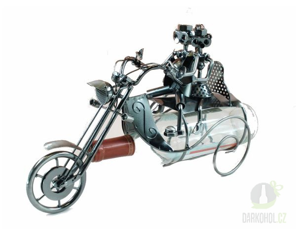 IMPORT - Držák na láhev - motorka dva lidi