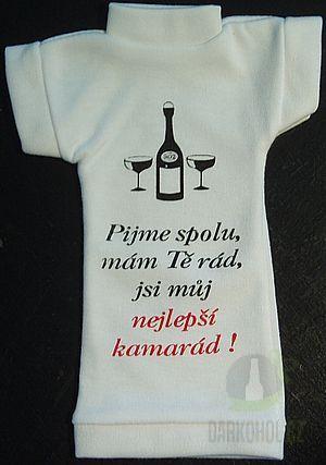 Hlavní kategorie - Tričko na láhev- Nejlepší kamarád
