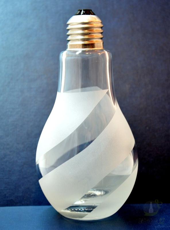 Hlavní kategorie - Lahev pískovaná Žárovka 0,2l