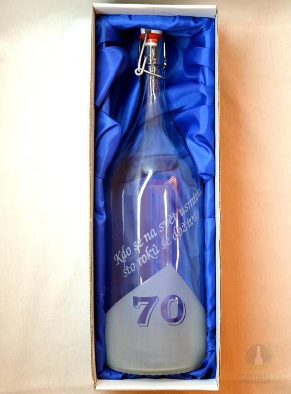 Hlavní kategorie - Lahev pískovaná Renana 2l  70 let