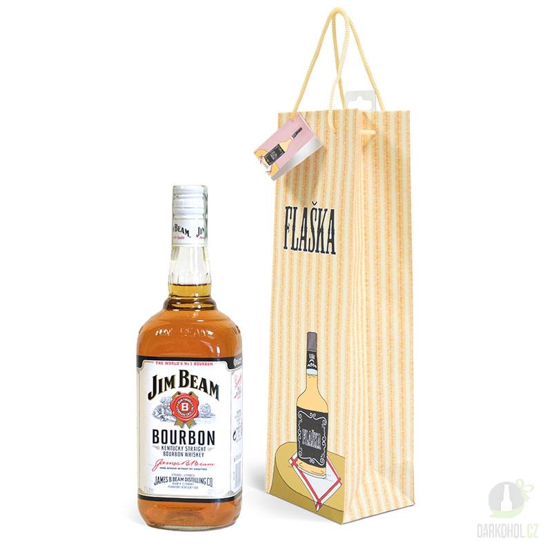 Hlavní kategorie - Papírová taška na láhev žertovná - hádanka