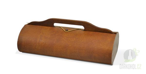 Hlavní kategorie - Dřevěný box na 2 lahve tmavý-poslední kus!