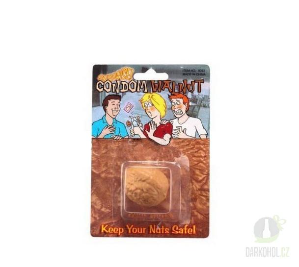 Hlavní kategorie - Kondom v ořechu