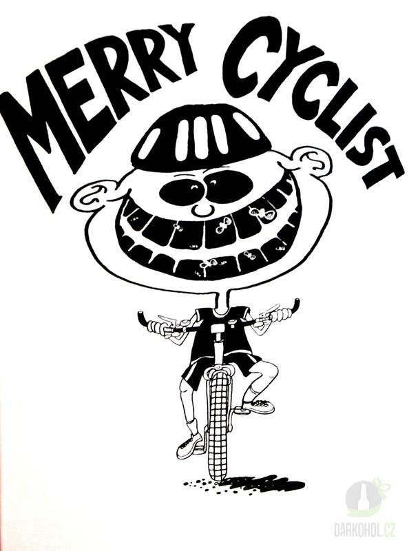 Hlavní kategorie - Triko Merry cyclist bílá