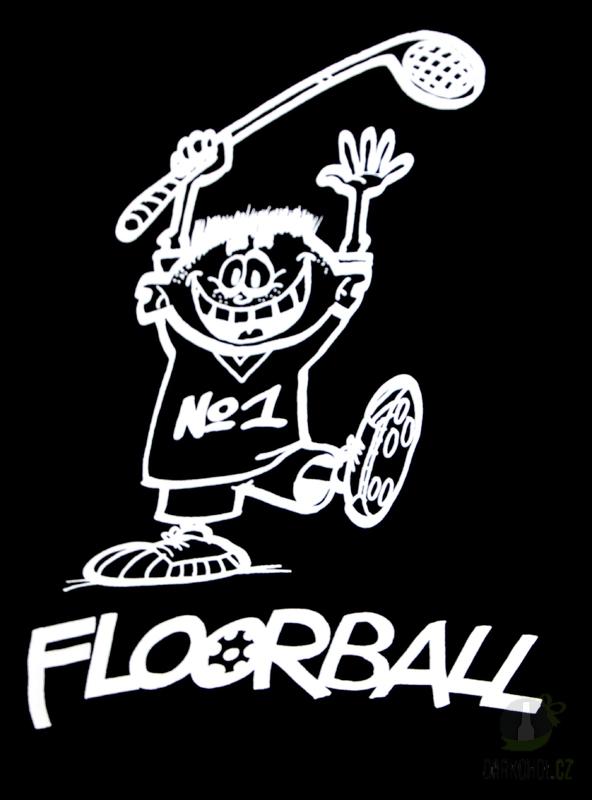 Hlavní kategorie - Triko Floorball černá