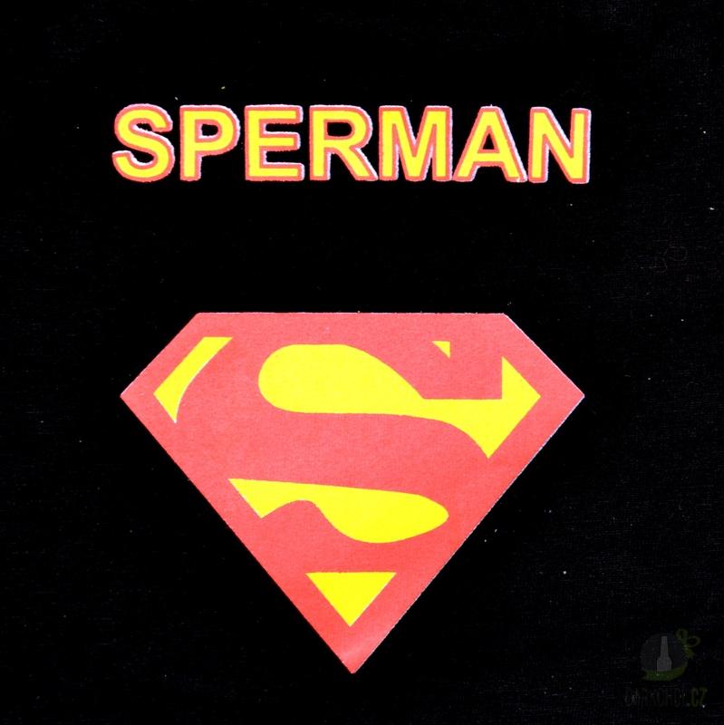 Hlavní kategorie - Trenýrky černé-Sperman