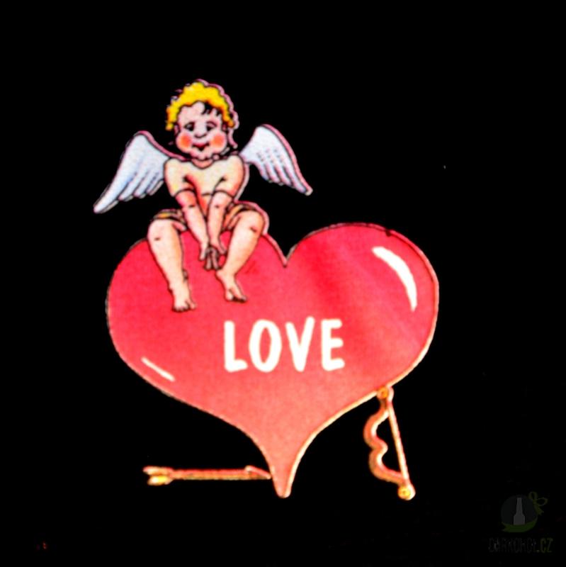 Hlavní kategorie - Trenýrky černé-Love amor