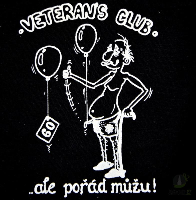Hlavní kategorie - Trenýrky černé-Veterans club 60
