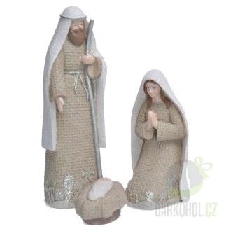 Hlavní kategorie - Svatá trojice -béžová,19cm,polystone