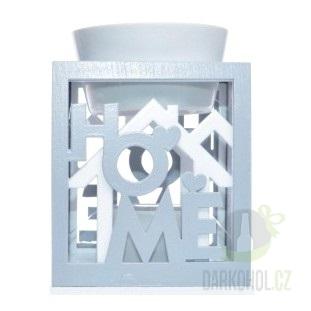 Hlavní kategorie - Dřevěná aromalampa HOME dekorace
