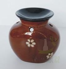 Hlavní kategorie - Keramická aromalampa -selská hnědá