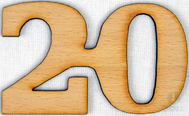Hlavní kategorie - Ozdoba číslo 20 přírodní