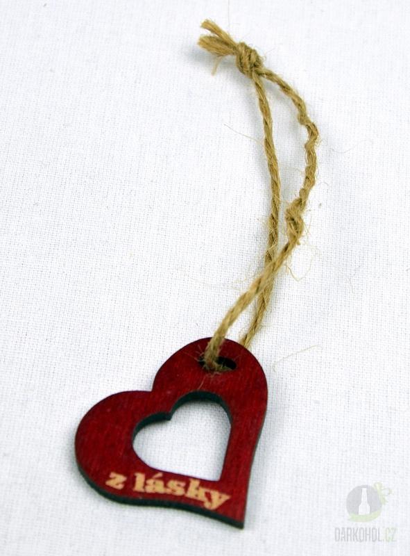 Hlavní kategorie - Srdíčko velké červené otvor-z lásky