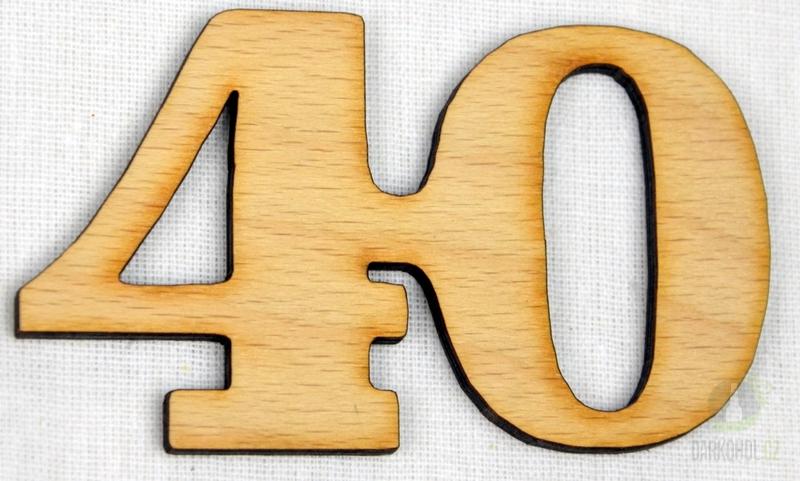 Hlavní kategorie - Ozdoba číslo 40 přírodní