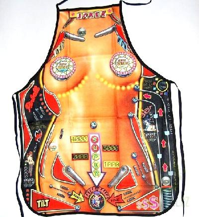 Hlavní kategorie - Zástěra barevná- žena Pinball