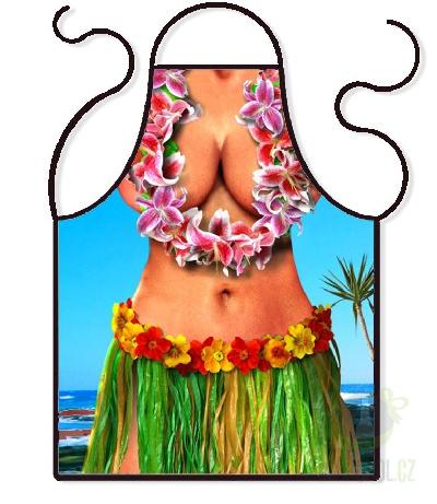 Hlavní kategorie - Zástěra barevná- Hawai girl