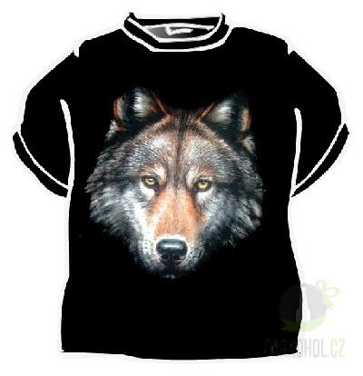 Hlavní kategorie - Triko Vlk černá