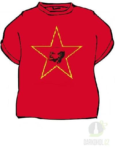 Hlavní kategorie - Triko Lenin červená
