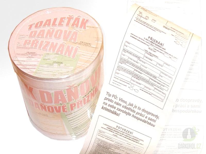 Hlavní kategorie - Toaletní papír Daňová přiznání