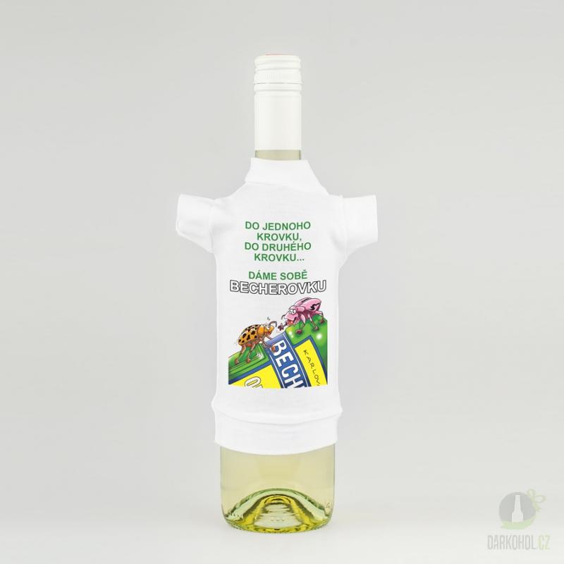 Hlavní kategorie - Tričko na láhev- Becherovka