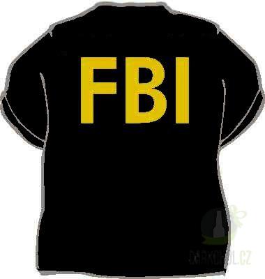 Hlavní kategorie - Triko FBI černá