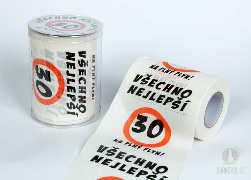 Hlavní kategorie - Toaletní papír Happy Brithday výr30