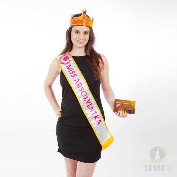 Hlavní kategorie - Šerpa Miss absolventka