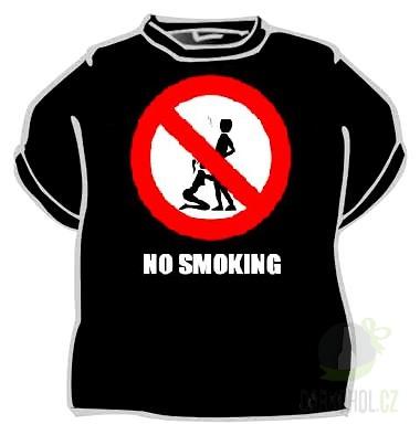 Hlavní kategorie - Triko No smoking černá