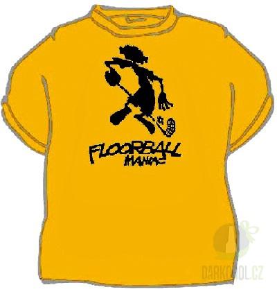 Hlavní kategorie - Triko Floorball maniac žlutá