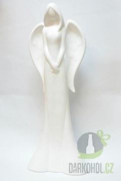 Hlavní kategorie - Anděl bílý chládek 35 cm