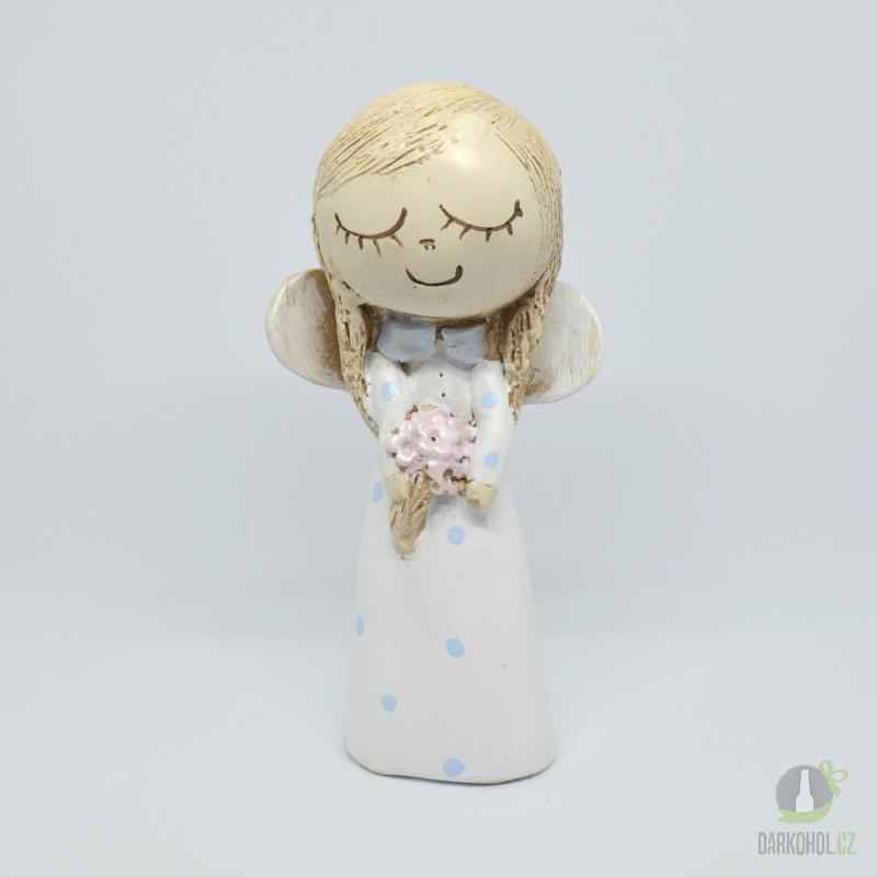 Hlavní kategorie - Anděl holčička bílá