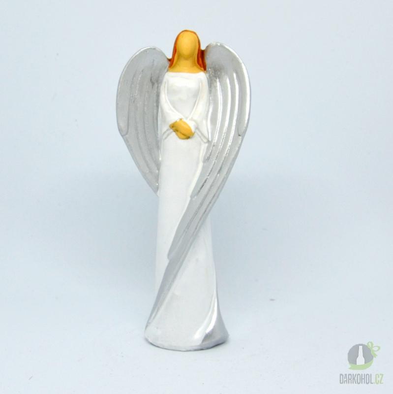Hlavní kategorie - Anděl  Emilie 17cm, polystone