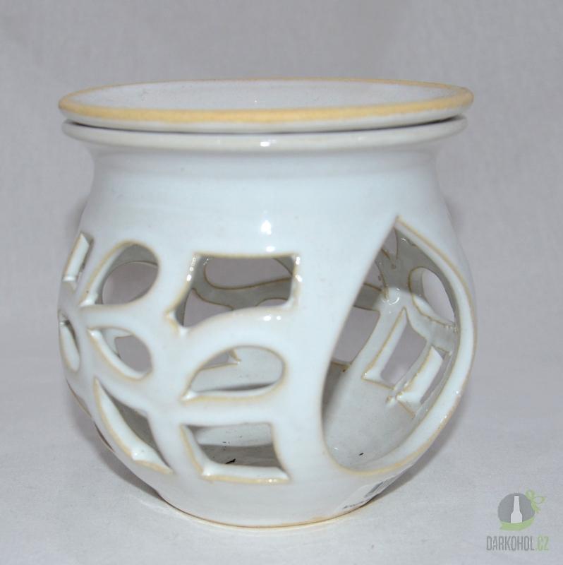 Hlavní kategorie - Aroma lampa buclatá bílá