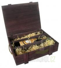 Hlavní kategorie - Box na 3 láhve-hnědý