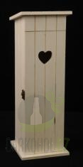 Hlavní kategorie - Dřevěný Box na 1 láhev vína Záchod