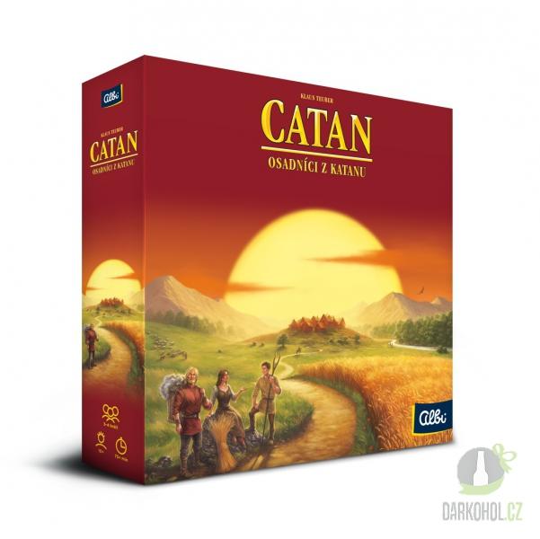 Hlavní kategorie - Catan- základní desková hra