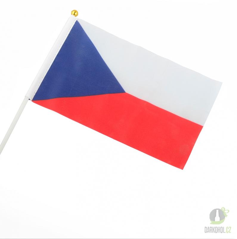Hlavní kategorie - Česká vlajka 45x30cm