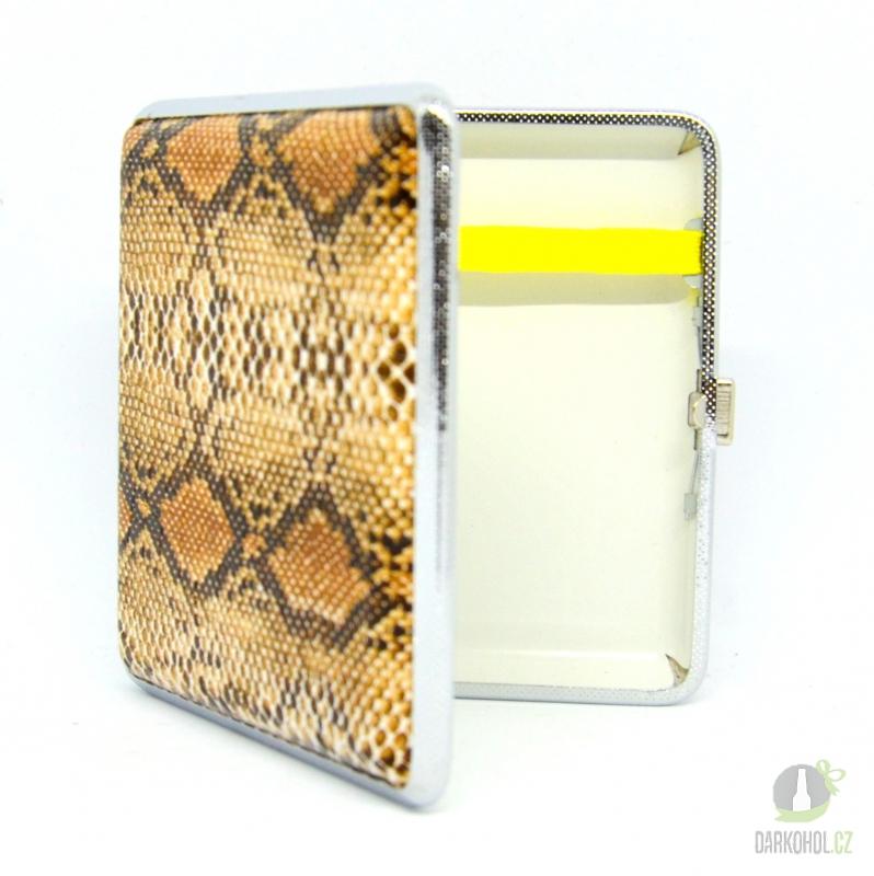 Hlavní kategorie - Cigaretové pouzdro KS/20 imitace hadí kůže