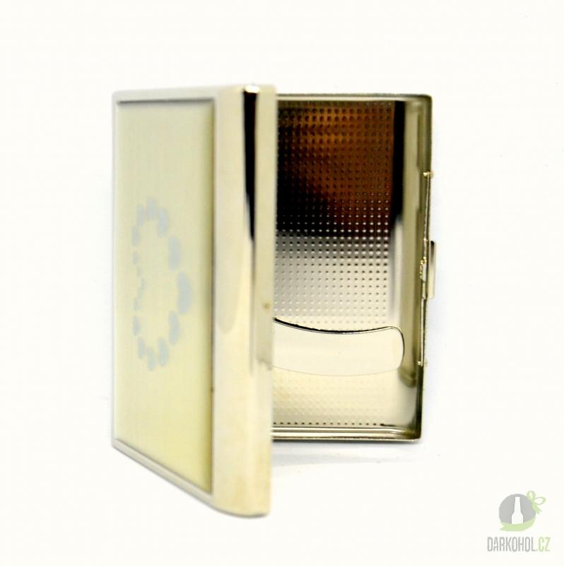 Hlavní kategorie - Cigaretové pouzdro ks/20 srdce /střibro