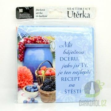 IMPORT - Dárková utěrka Pro dceru