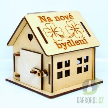 IMPORT - Dřevěná chaloupka Na nové bydlení